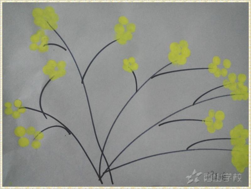 迎春花叶子的简笔画 >