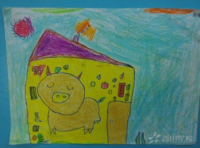 福清西山学校幼儿园快乐二班2015年3月幼儿作品展示