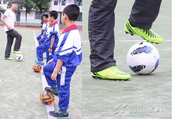足球是用脚的哪个位置图解