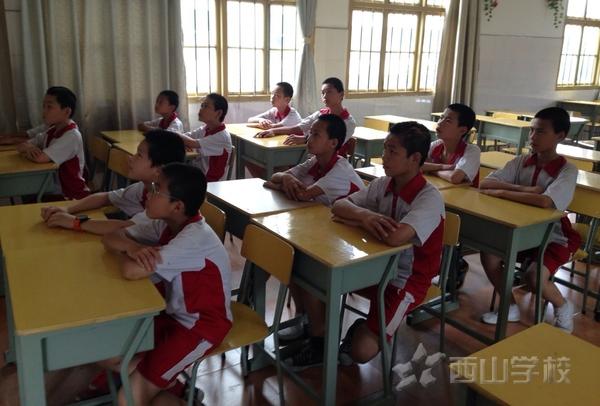 西山学校小学部毕业班召开期末班干部培训会