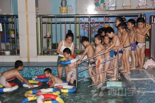 """快乐游泳课:清凉一""""夏""""吧"""