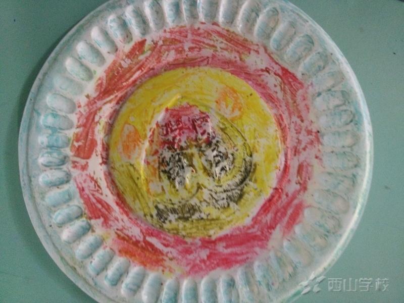 幼儿园蛋糕盘手工制作图片动物步骤