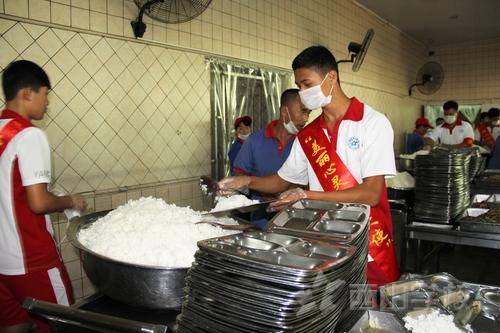 西山职业技术学校志愿者活动正式启动