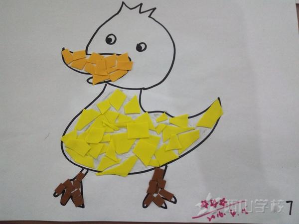 张书勤《可爱的小鸭子》健健一班 福清西山学校幼儿园