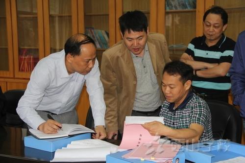 西山学校迎接福清市心理健康特色学校评估组到校检查考核