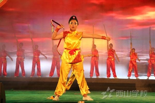 2016年庆六一文艺晚会:武术《独一无二》