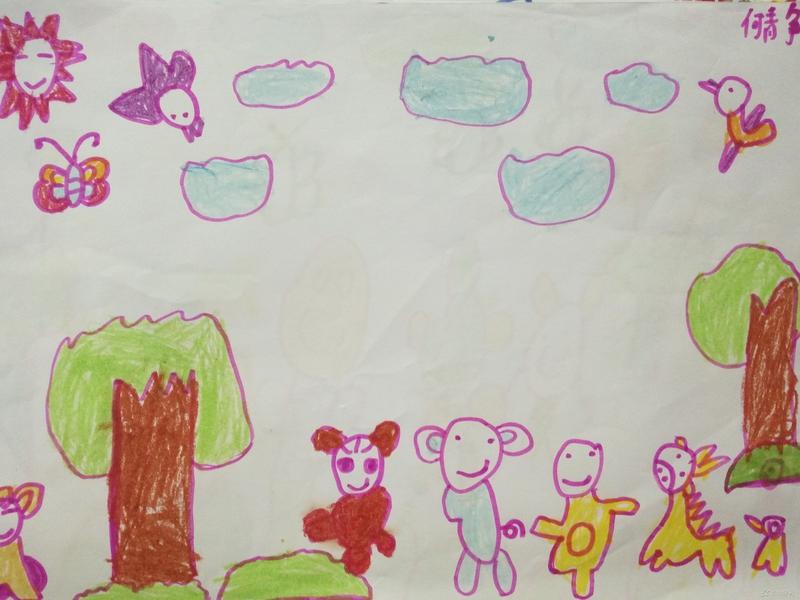 何静《森林里的动物》福清西山学校幼儿园快乐二班