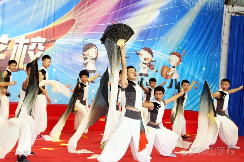 台湾中学生夏令营访问西山学校 体验西山特色教育