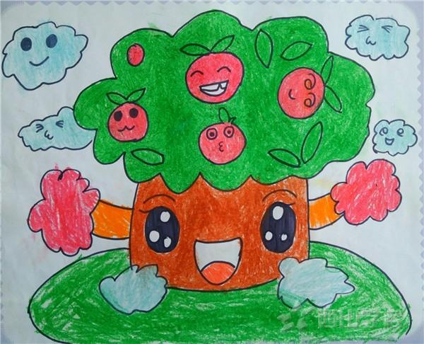 林愉婷《苹果树》快乐一班  福清西山学校幼儿园