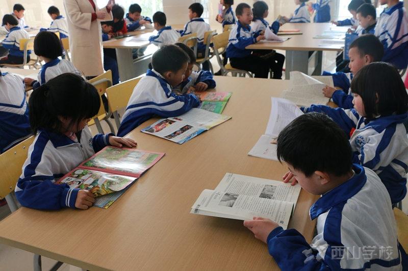 书香伴我成长—江西西山学校小学部开展读书综合实践活动