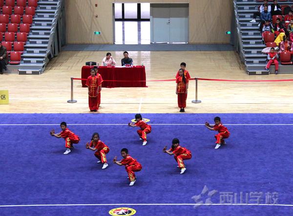 福州市中小学生武术套路锦标赛暨传统校考核赛 西山学子载誉而归