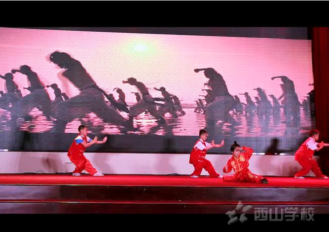 西山学校学生代表应邀参加小戏骨《我要当红军》首映礼