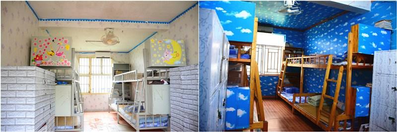 温馨的宿舍我的家|西山学校初中部宿舍文化建设验收啦!
