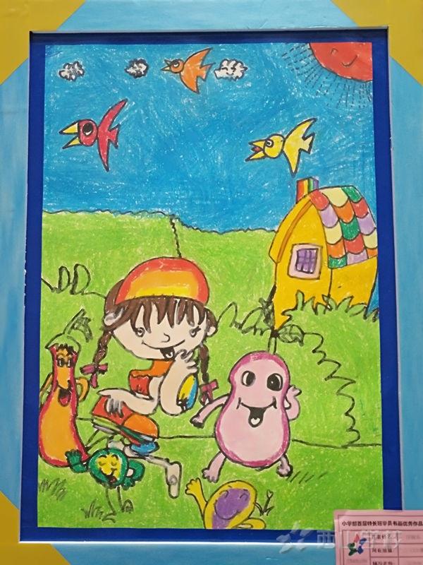 美术作品欣赏|童年 童真 童心 童趣