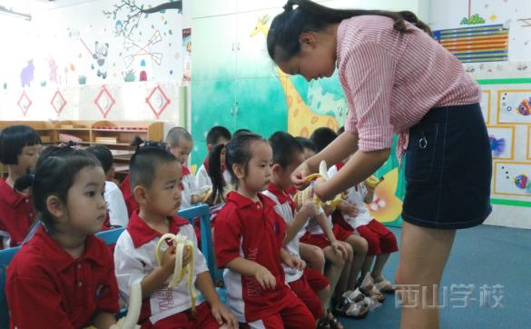 幼儿的饮食不容忽视——福清市西山学校幼儿园