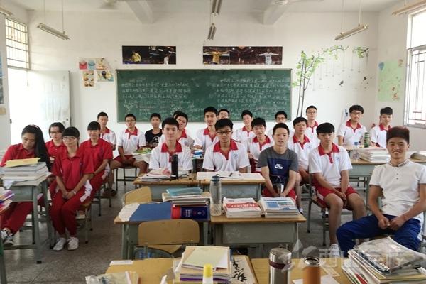班级简介 福建西山学校 高中部 高三4班