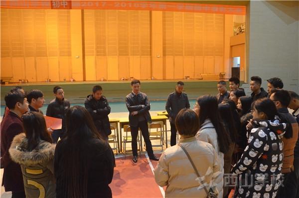 江西省西山学校高中部晚会进入联排 高中部全体师生大联欢