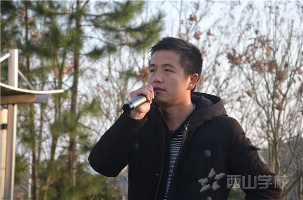 健康伴我行——江西省西山学校高中部举行新一周主题升旗仪式